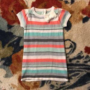 Baby Girls Striped Sweater Dress